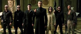 The Matrix Reloaded Chateau Fight