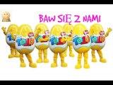 Baw się z nami: Jajka niespodzianki TOTO- 4 zabawki