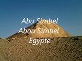 Les temples d'Abou Simbel  Egypte . Abu Simbel Egypt