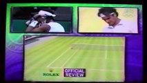 Nadal vs Federer 2008 Wimbledon final unique commentary 4