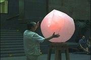 Interactive sculpture with feelings, interactive art