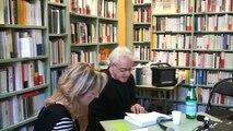 Greil Marcus à la librairie L'Arbre à lettres République, le 31 mars 2009