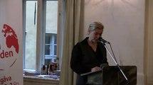Swedish Minister for Development Cooperation Gunilla Carlsson