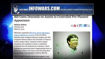 Bill Gates Confronted by Infowars Reporter