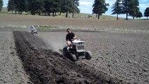 Waterville Days - Bolens Garden Tractor Plow Day 2