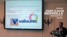 Petit-déjeuner adaptation au changement climatique : Jean-Louis Merveille, Directeur du développement durable (Vallourec)