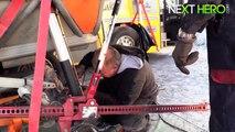 Motorcycle vs Car Drift  EXTREME MOTOR SPORT