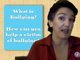Bullying tip #1 What is bullying and how can you help a victim of bullying?