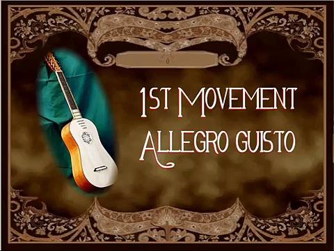 Vivaldi – Concerto For Guitar And Strings in D Major
