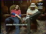 Red Hot Chili Peppers John Frusciante Interview @ Paris