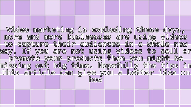 Video Marketing: How To Double Your Sales