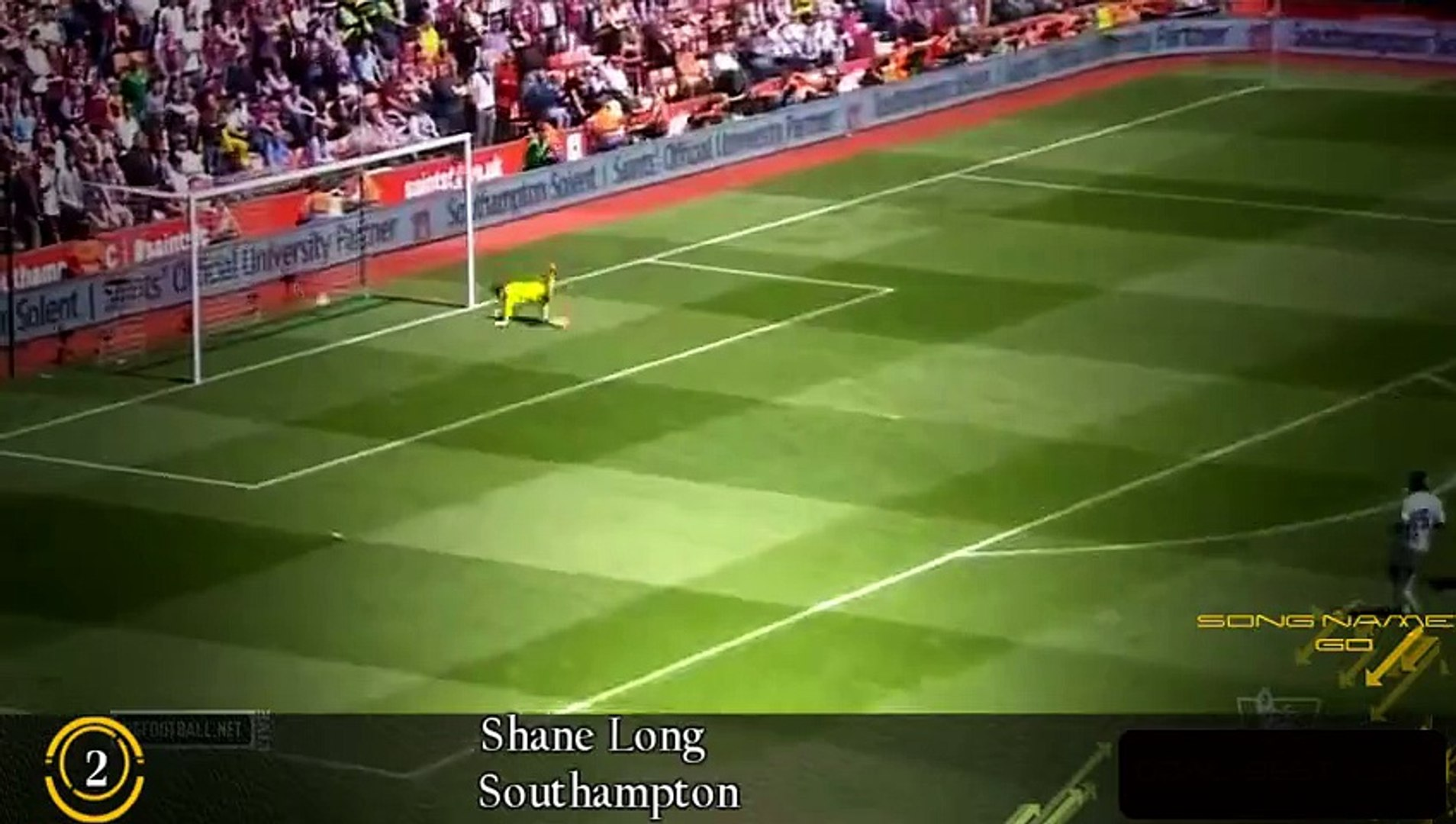 Cú đệm lòng của Shane Long được bầu chọn là bàn thắng đẹp nhất tuần qua