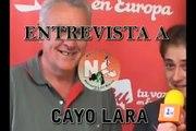 Noticias de calle y Radio Activa entrevistan a Cayo Lara
