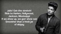 Mark Ronson ft. Bruno Mars - Uptown Funk (Lyrics Video)
