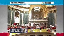 "Gov. Scott Walker Has Faked a ""Budget Crisis"" Before (Feb 21, 2011 - msnbc)"