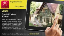 A vendre - propriété - SARLAT LA CANEDA (24200) - 7 pièces - 170m²