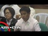 Mayor Binay grilled by Senate on Makati building