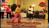 Campeón del mundo de Pasos libres. Salsa. www.salsaspain.com