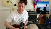 Queen - Mother Love - Guitar Solo Lesson Tutorial with guitar tab