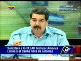 Venezuela promueve la independencia de Puerto Rico. Inclusión en CELAC y PetroCaribe. Nicolás Maduro