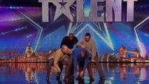 Old Men Grooving Britain's Got Talent 2015 Audition Week 4