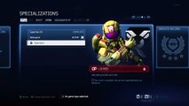 Halo 4: Wetwork Unlocked, & Info About Specializations