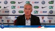 FFFTV Live : La conférence de presse de Didier Deschamps. (REPLAY)
