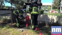 Les pompiers de Nice évacuent le personnel de Nice-Matin