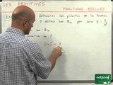 32 Primitives : fonctions réelles