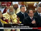 Egyptian President Al-Sisi at Coptic Christmas Mass: We Are All Egyptians