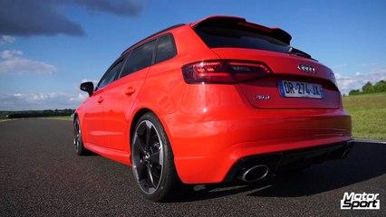 0 à 250 km/h avec la nouvelle Audi RS3