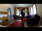 Snowboard les deux alpes gopro 3 HD black edition
