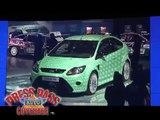 2008 British Motor Show: Alesha Dixon Fires Up Ford Fiesta