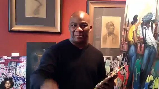 Frank Morrison invites guests to Live, Love & Jazz Exhibition at House of Art Gallery