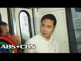 Abaya rides MRT, draws flak from commuters