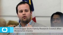 Josh Duggar Quits Family Research Council After Molestation Claims
