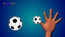 Finger Family Ball - Finger Family Songs - Ball Cartoon animation Nursery Rhymes for Kids ABC Alphabet Cartoon Games