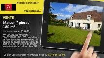 Vente - maison - Jouy-le-moutier - 180m²