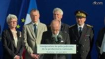 Inauguration du PJGN par Bernard Cazeneuve