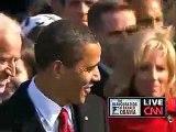 Barack Obama Oath of Office 2009 inauguration HQ