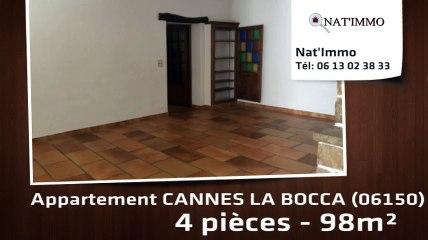 CANNES LA BOCCA - Appartement  4 Pièce(s) 98 m²  à louer