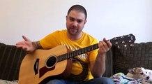 Tutorial: Rainbow Eyes Intro (Rainbow) - w/ TAB (Guitar Lesson)