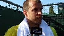 """Roland-Garros 2015 - Gilles Muller : """"J'ai envie de bien faire"""""""