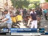 Vecinos de Palo Verde cierran avenida en protesta por asesinato