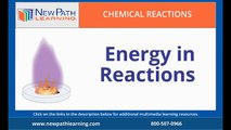 Chemical Reactions - Energy Reactions