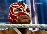 WWE Raw 7 25 11 Rey Mysterio Wins the WWE Title!