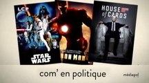 Mediapol : Ciné, séries télé et politique