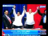 PRESIDENT NOYNOY AQUINO AND VICE-PRESIDENT BINAY PROCLAIMED IN CONGRESS!