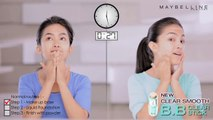 "Maybelline Clear Smooth BB. Stick ""How to"" in 1 minute 