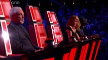 Fat Elvis Eastenders Shenton Dixon performs 'Ain't No Stopping Us Now' #FatElvis- The Voice UK 2014_ Blind Auditions 6